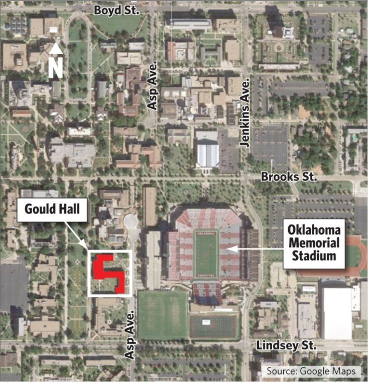 Jenks High School Campus Map.No Evidence Of Shooting Found At Ou Campus Education Tulsaworld Com