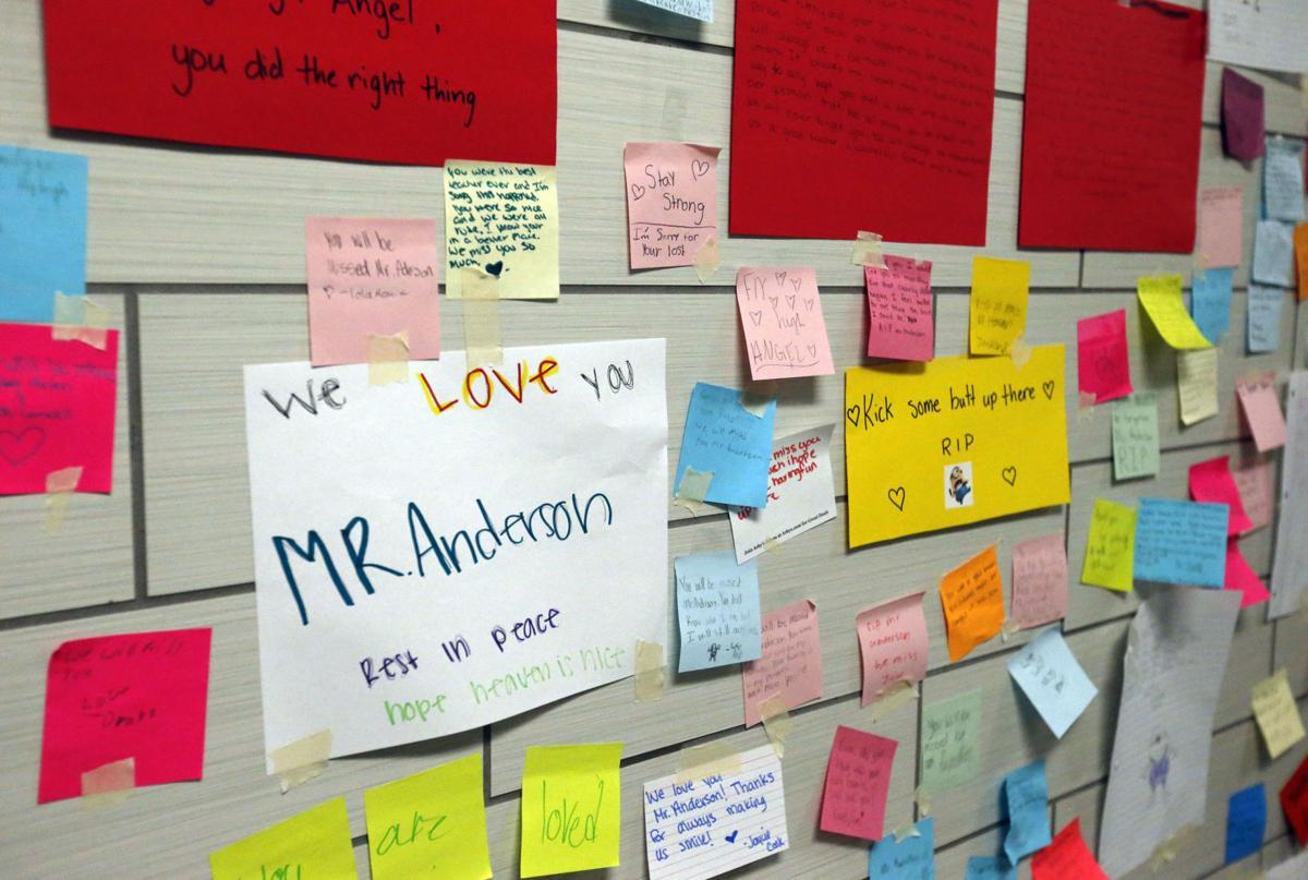 Teacher death