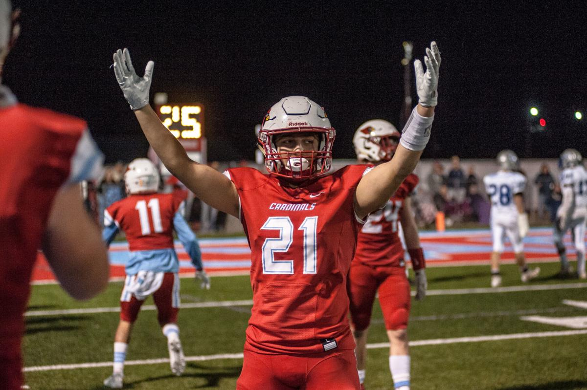 High School Football Playoffs Collinsville Bishop Kelley Fall In