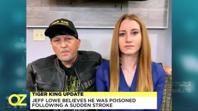 """""""Tiger King"""" star Jeff Lowe and his wife Lauren"""