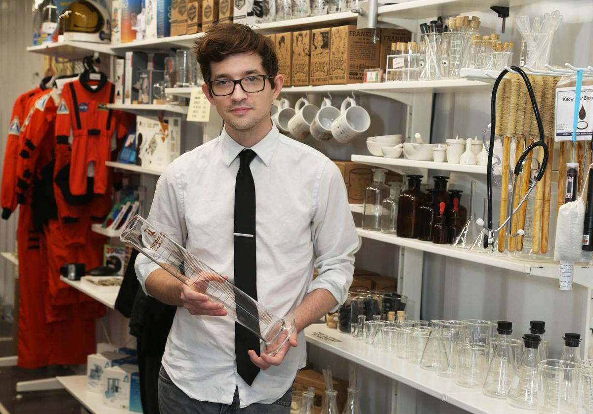 Terry Mudge combines STEM with business at his 'science shop'