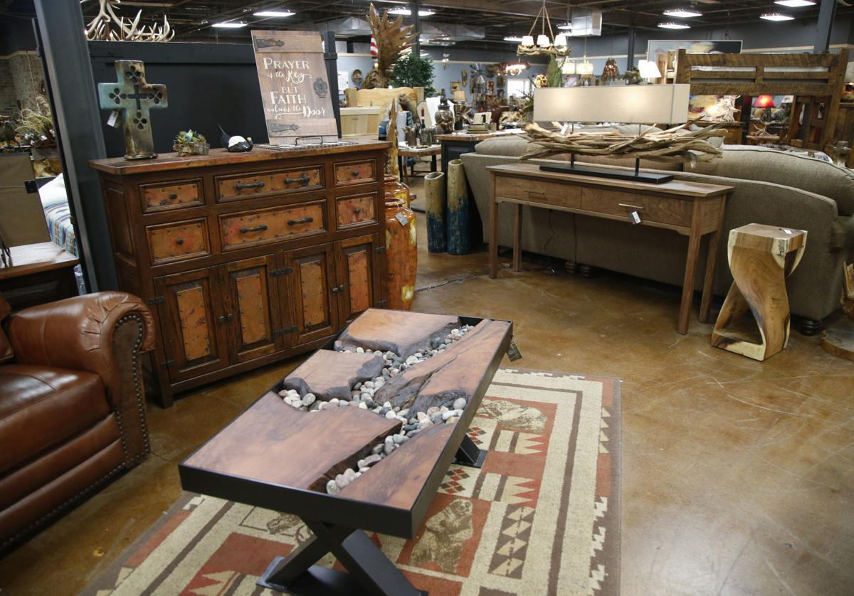 Photo Gallery Woodland Creek Furniture Specializes In Rustic Looks