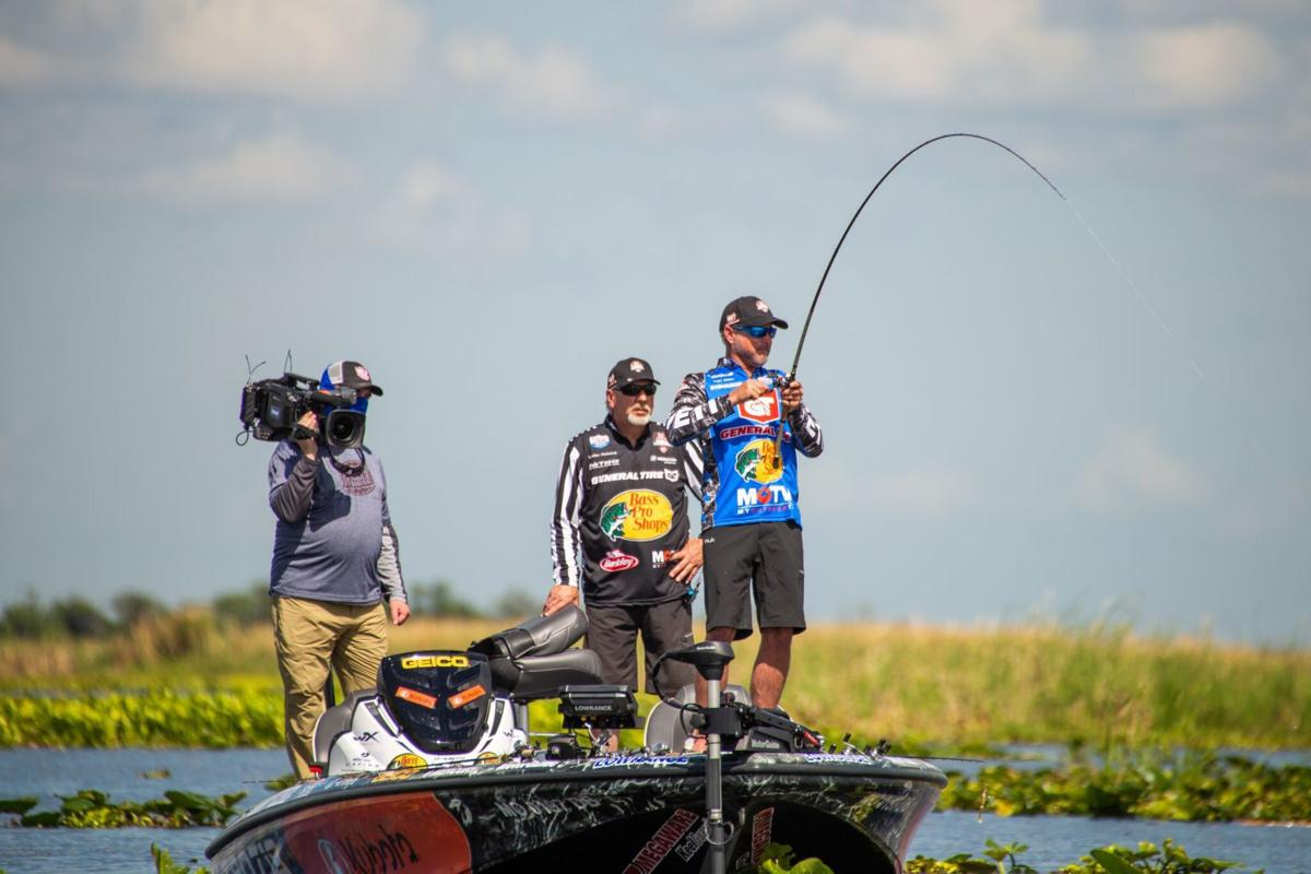 Kelly Bostian: Major League Fishing Pro Tour riding a ...