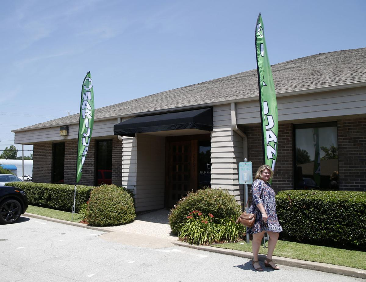 Tulsa's first medical cannabis clinic opens, but with no