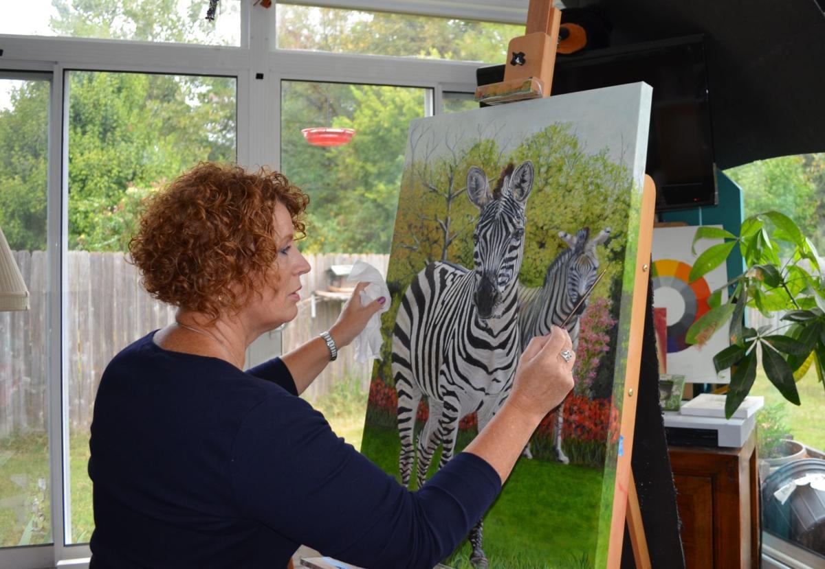 Art on main artist continues daughters legacy through art arts jan mckay buycottarizona Images