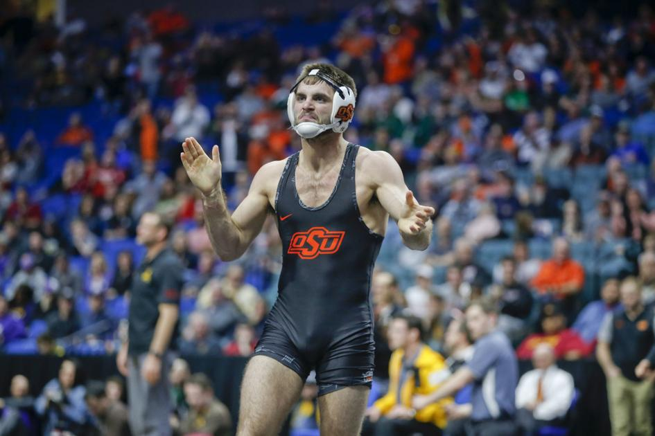 Big 12 wrestling championships oklahoma state 39 s chandler for 16 wrestlers and their huge homes