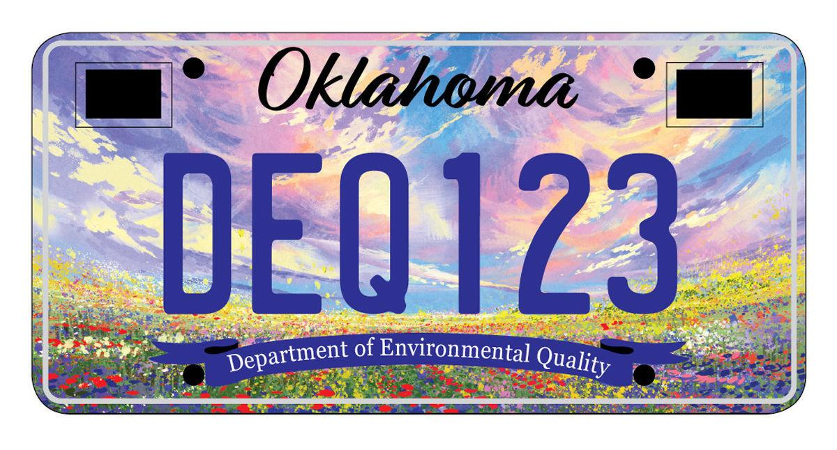 Customized License Plates >> Oklahoma drivers like customized plates with bison. Now you have 2 choices | Homepagelatest ...