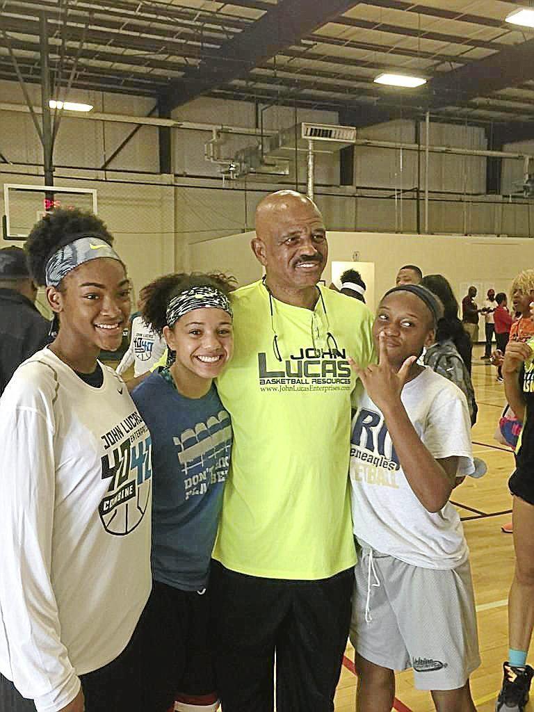Three Tulsa area girls attend John Lucas Elite camp