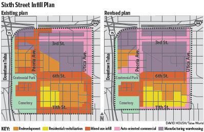 Sixth Street Infill Map