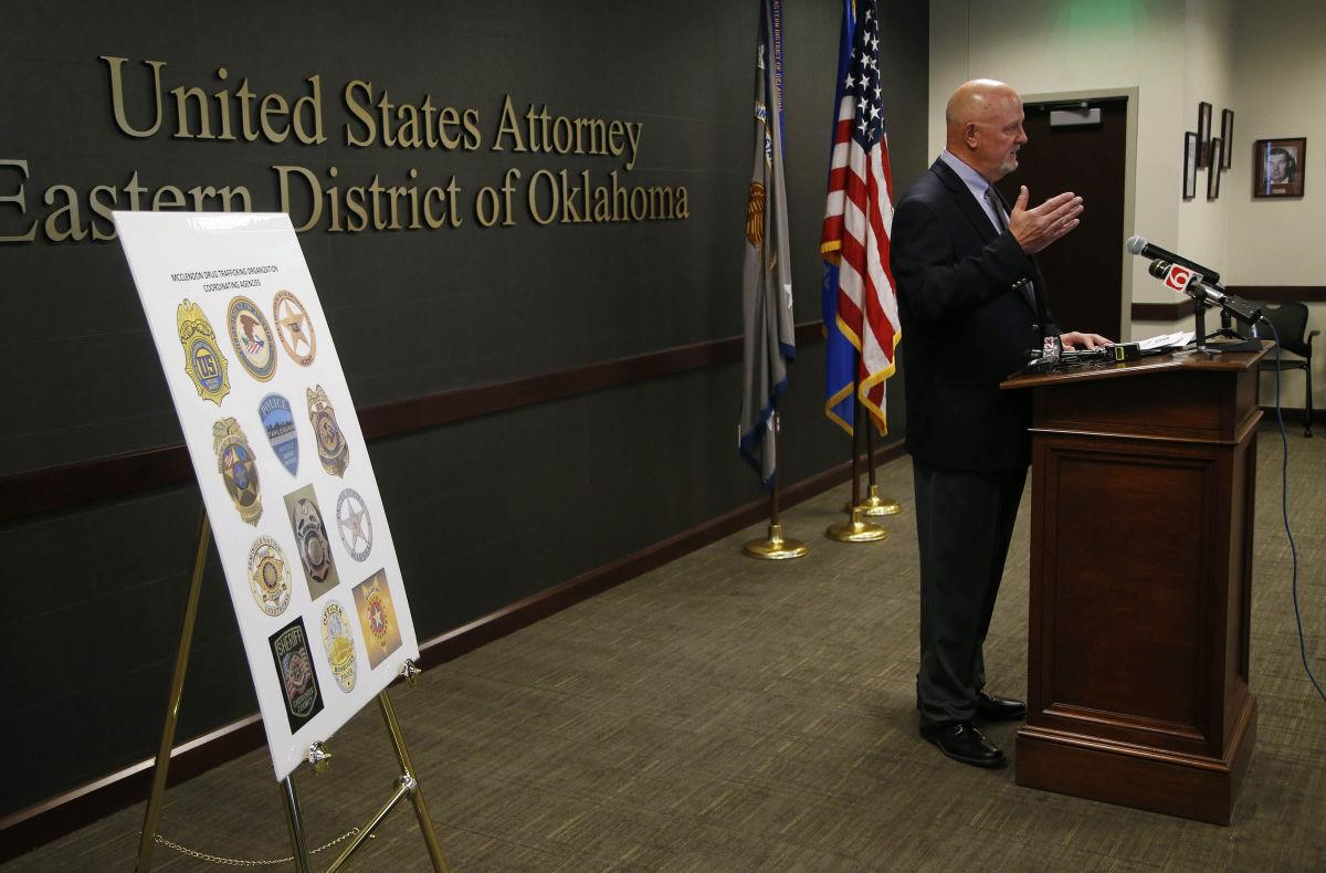 17 charged in federal indictments in alleged meth ring at Oklahoma
