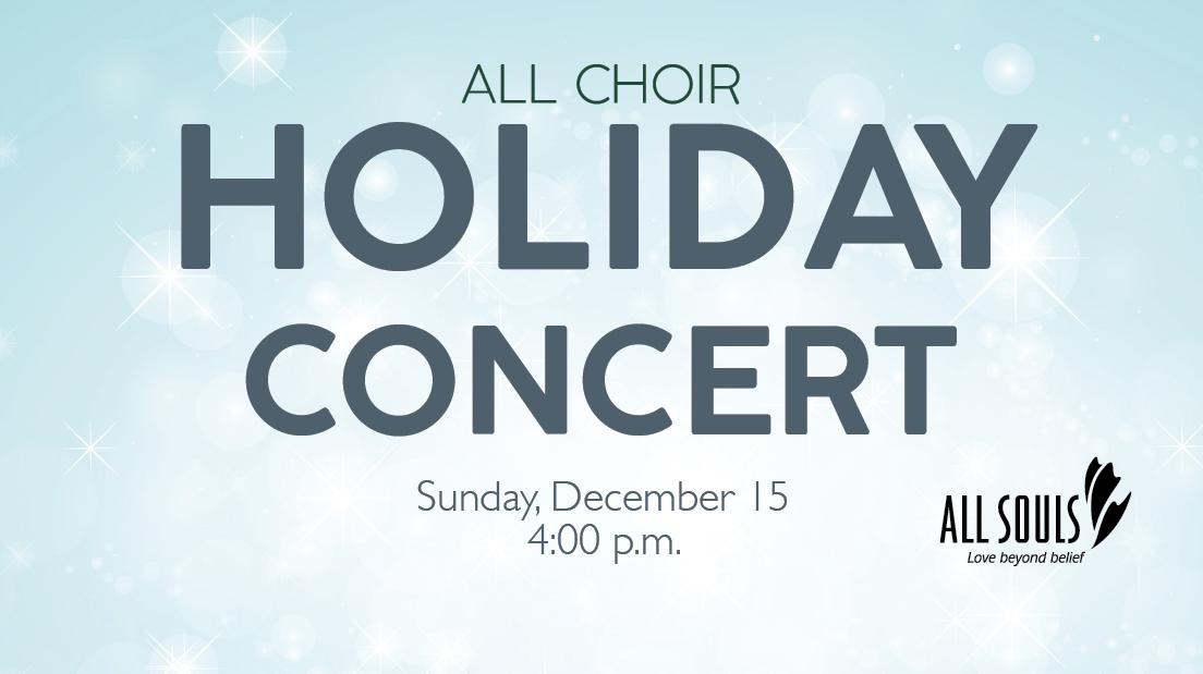 All Souls Choir Concert