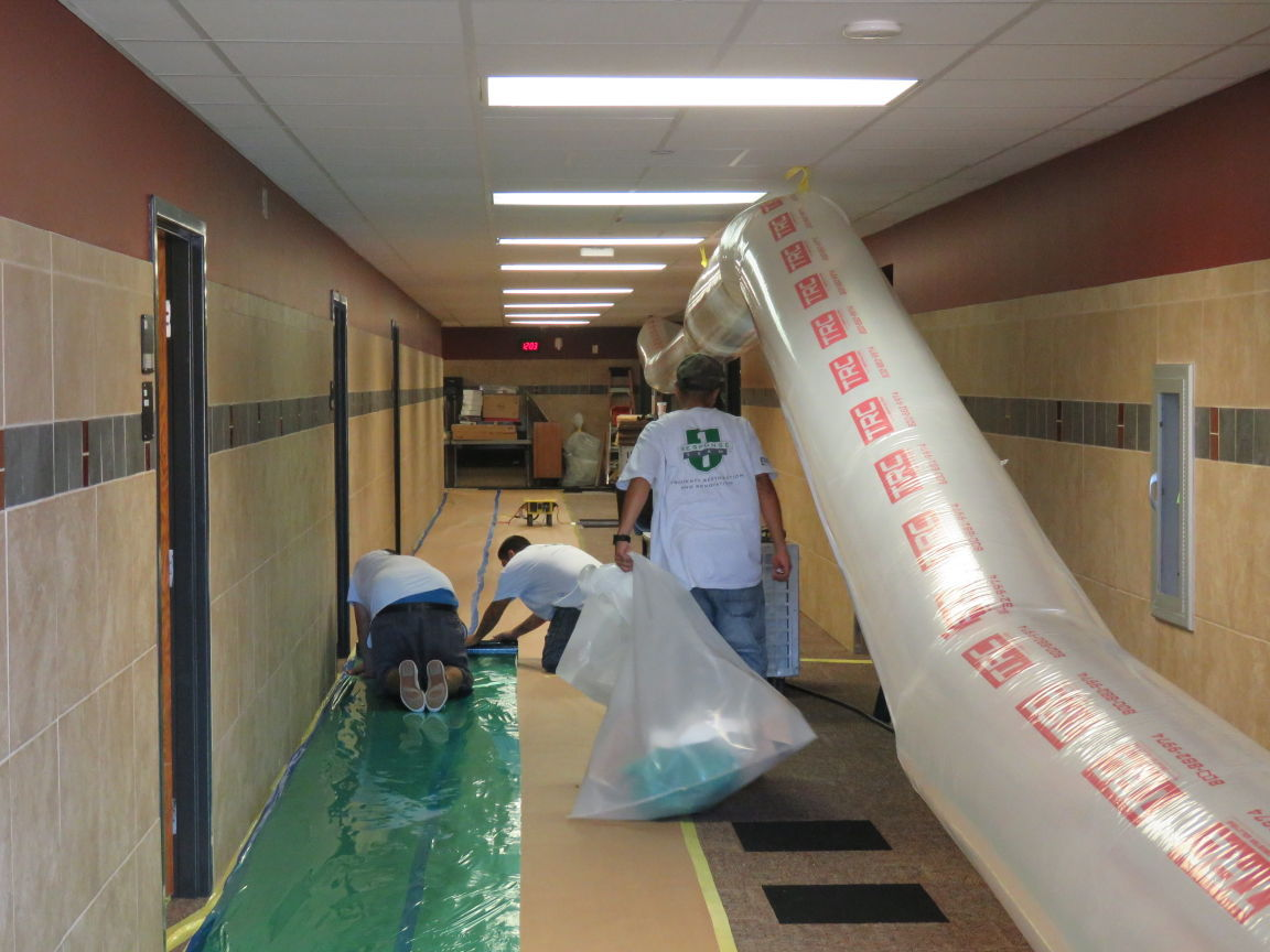 Ohs Library Suffers Major Damage From Water Leak News Tulsaworld Com