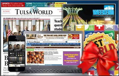 TW 101 - How to Give a Gift Subscription | | tulsaworld com