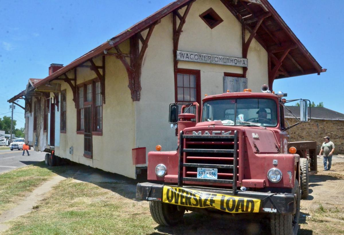 Train depot moved to new home (copy)