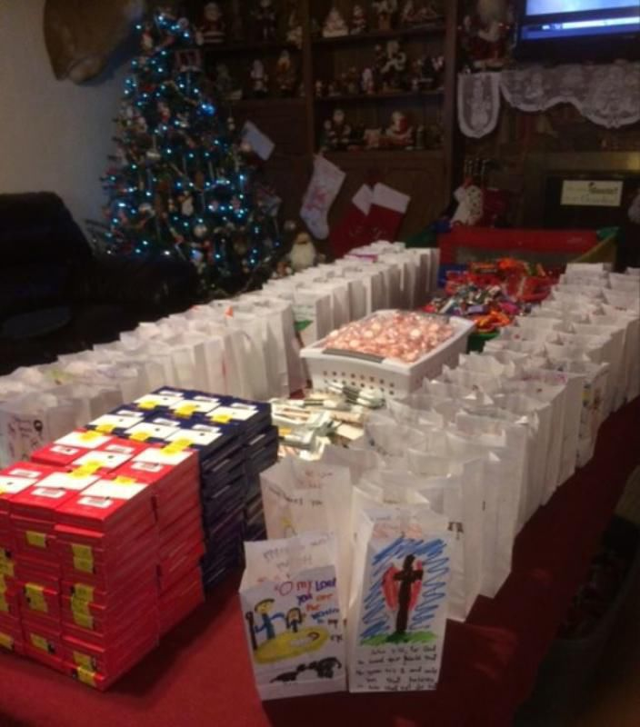 Delivering S Love Care Packages To Inmates At Christmas