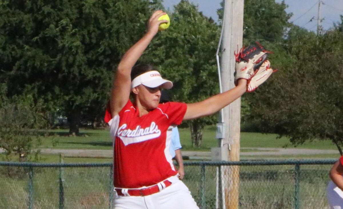 Collinsville Softball Elizabeth Aman
