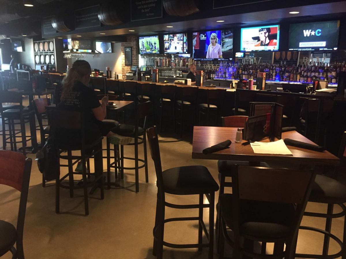Big Whiskey's bar