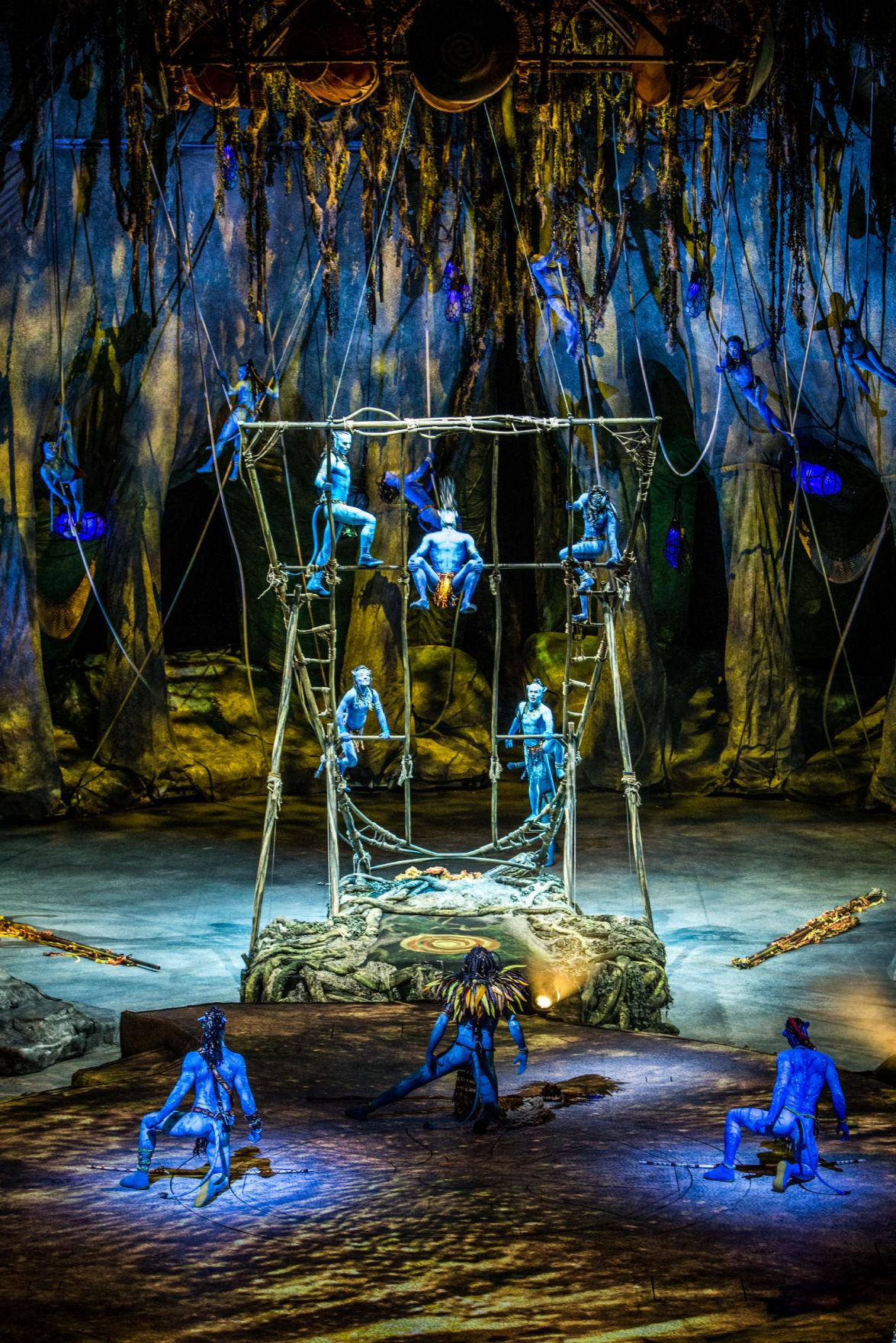 cirque du soleil toruk  Review: Cirque du Soleil re-invents itself with 'Toruk: The First ...