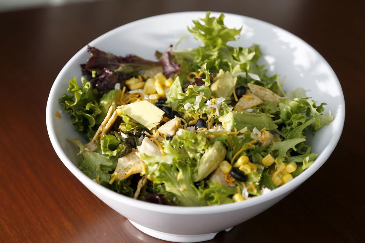 Coolgreens spicy salad