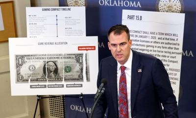 Gov. Stitt on gaming compacts
