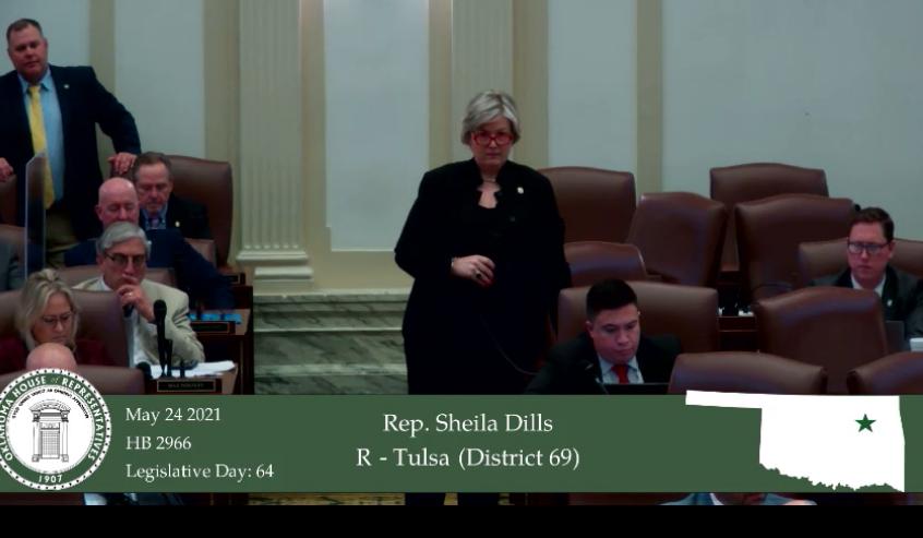 Rep. Sheila Dills, R-Tulsa