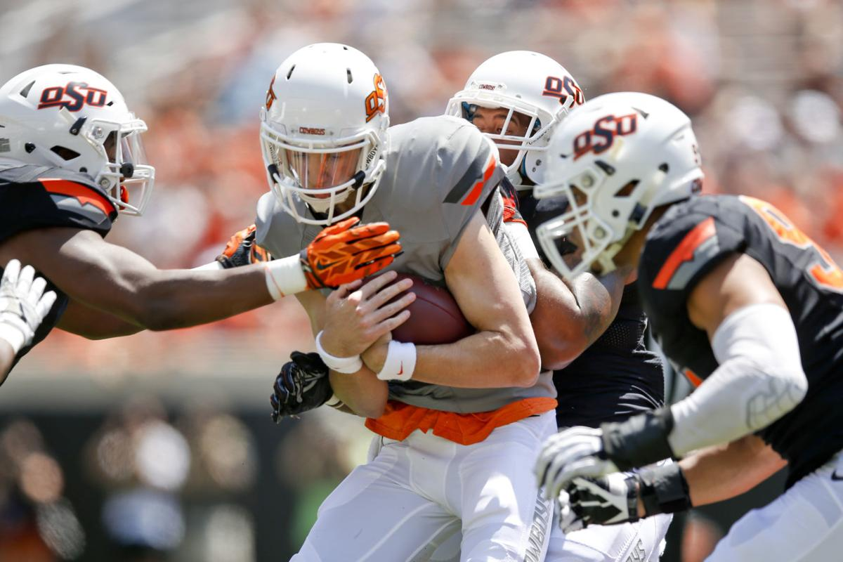 Osu Spring Game Cowboys Defense Shows Signs Of Aggression New