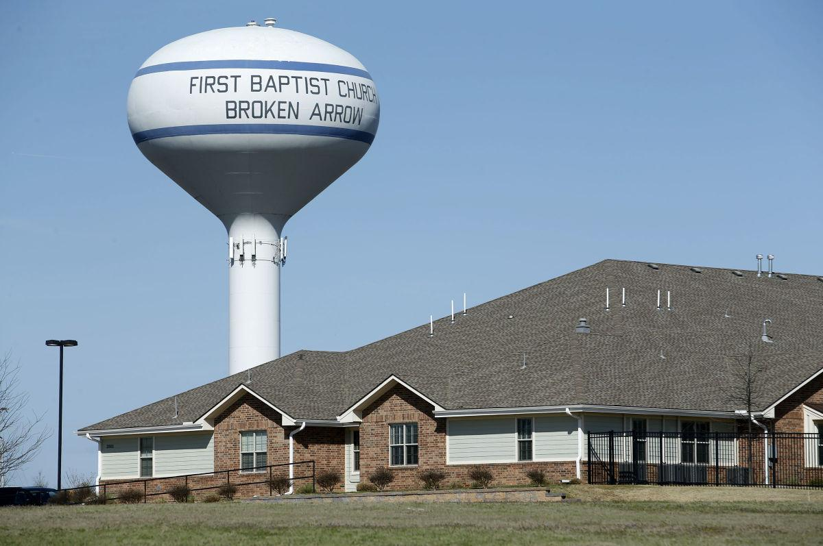 Church water tower controversy