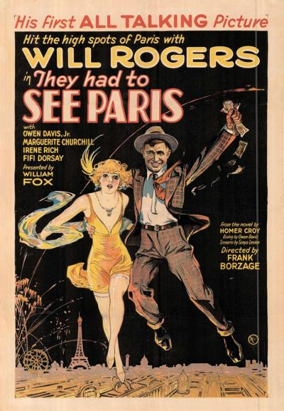 Will Rogers movie poster