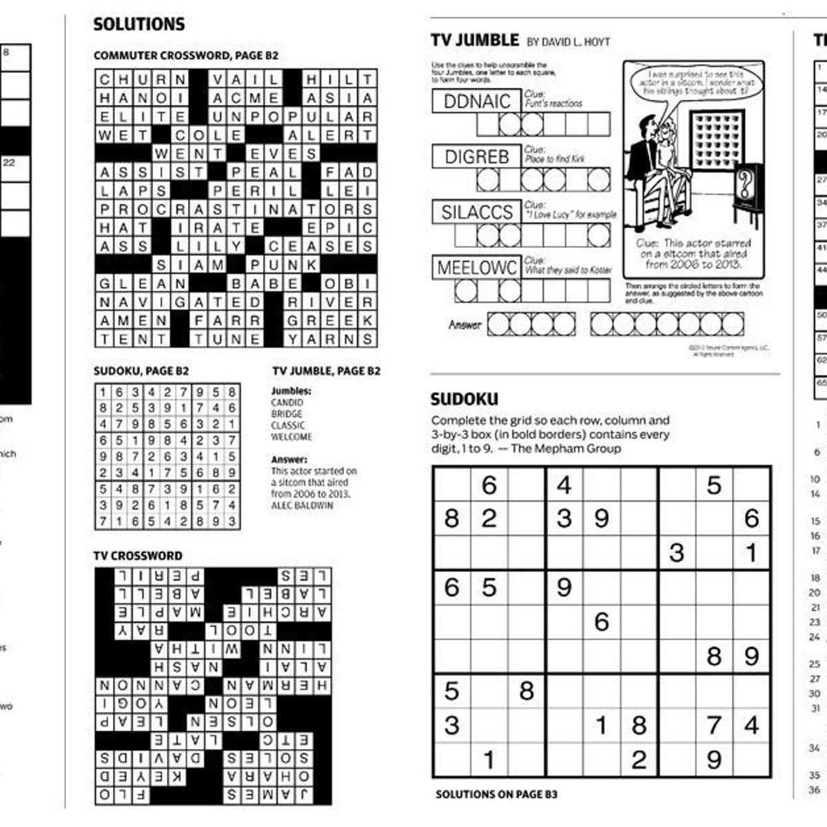 Two Pages Of Puzzles Added To Tulsa World Print Edition Daily Local News Tulsaworld Com