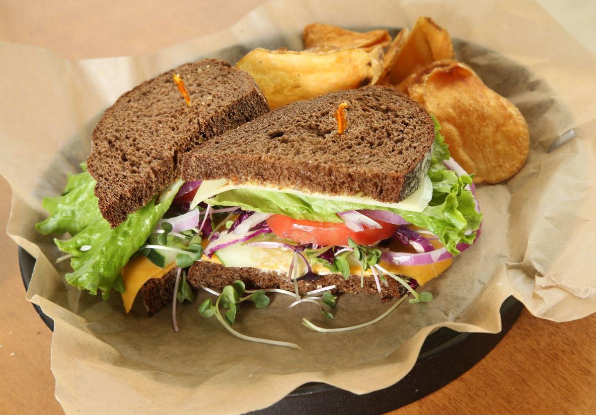 Blue Moon veggie sandwich
