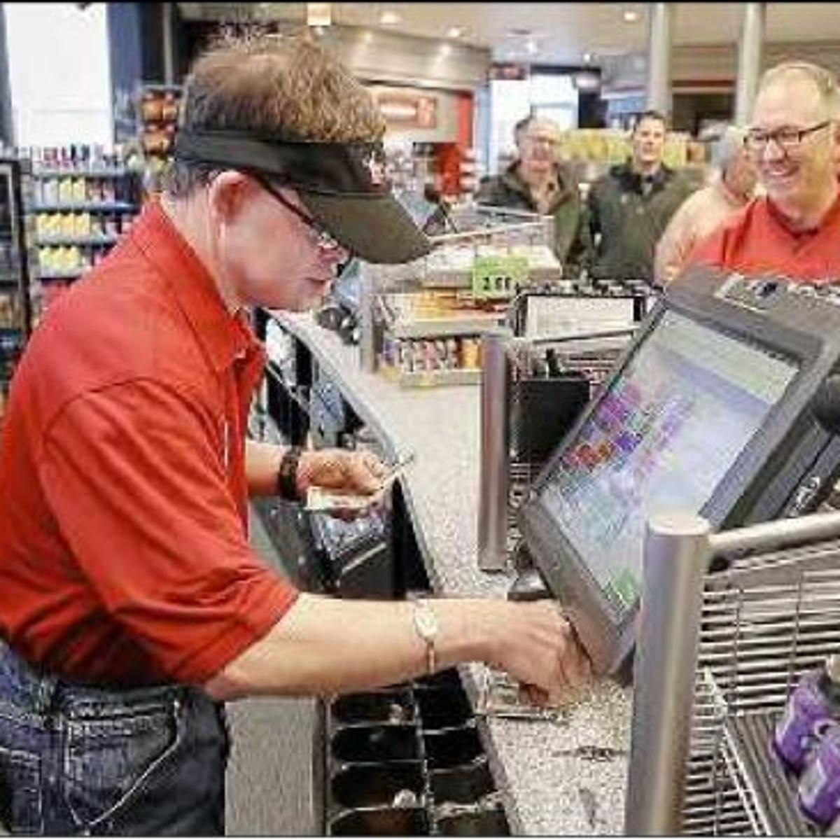 QuikTrip fan made honorary cashier for new store's first