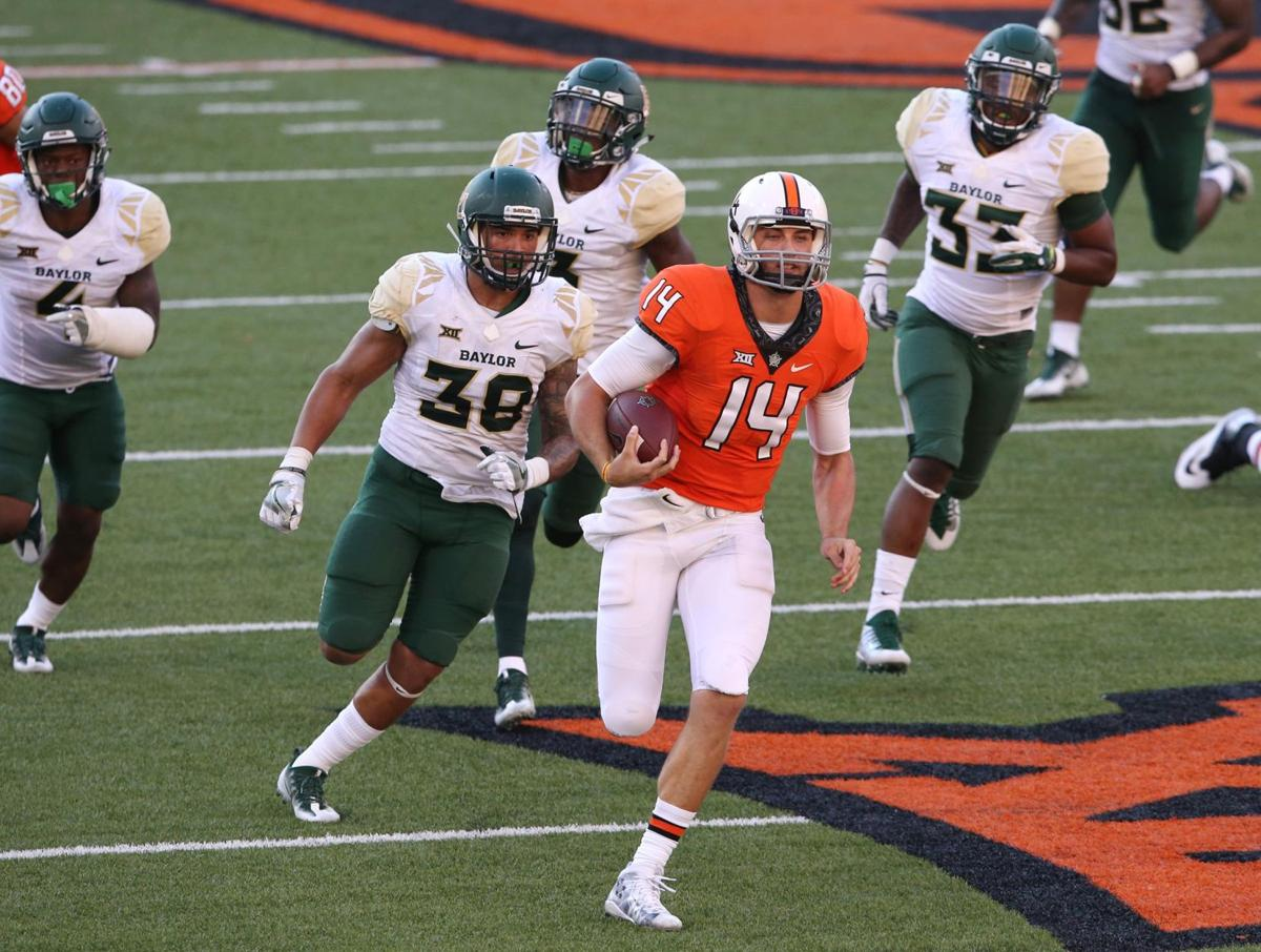 OSU football: Coming out of spring practice, Taylor Cornelius looks like Oklahoma State's front ...