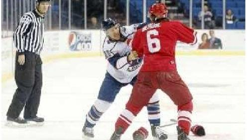Seeing A Fight Just Part Of What Makes Oilers Game Fun Tulsaworld Com