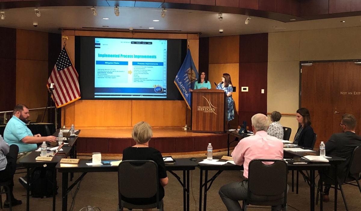 Statewide virtual board hears about Epic new fiscal practices