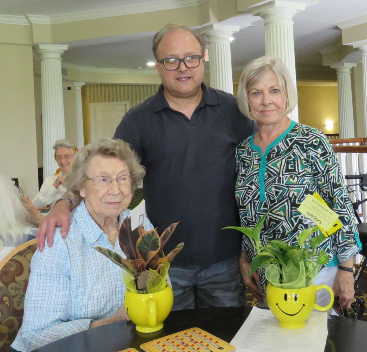 First Prebyterian Church Neal And Jeans Flowers Bring Smiles To