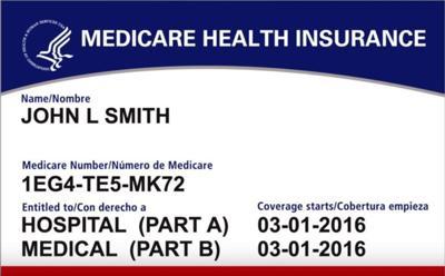 New Medicare ID card