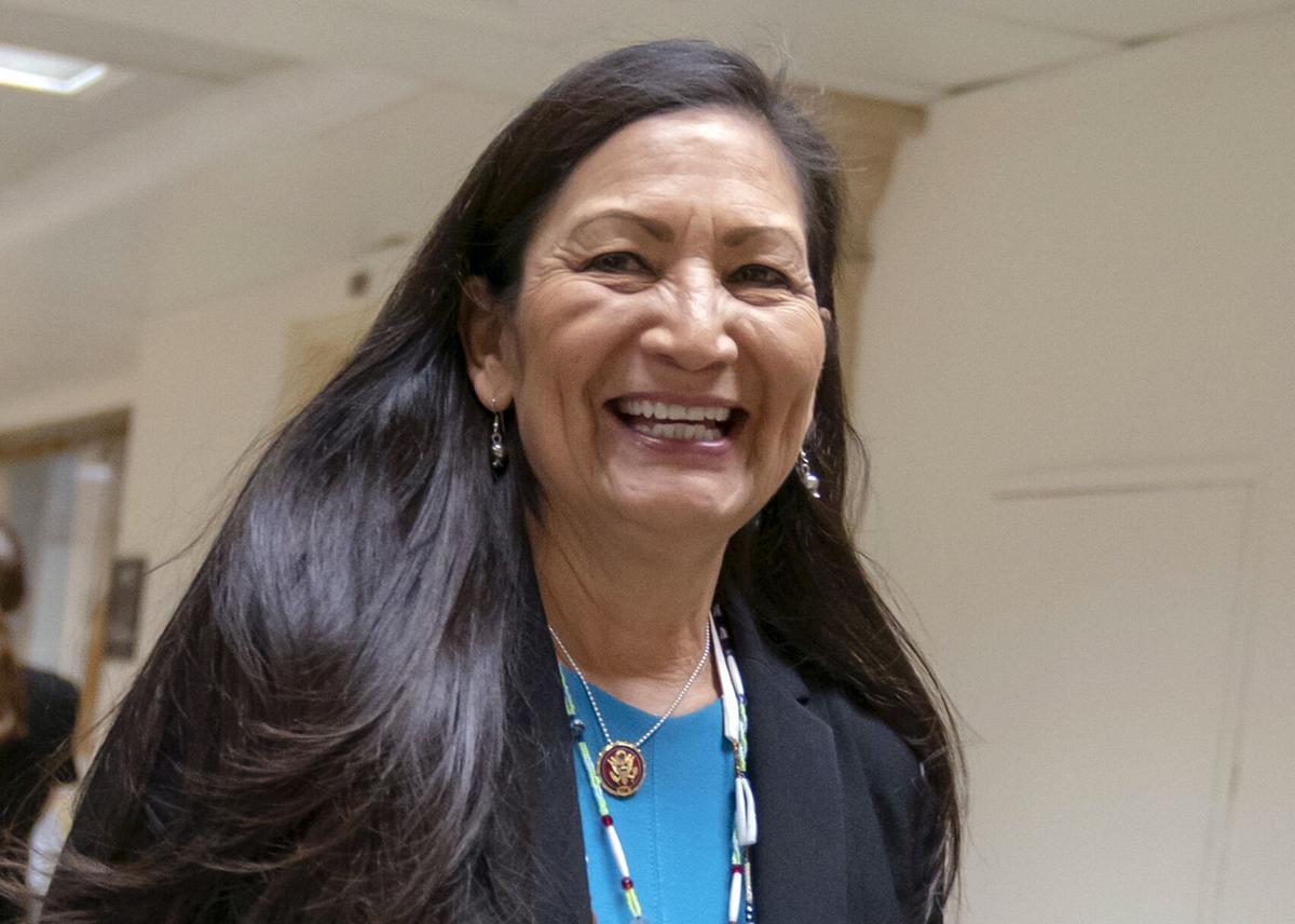 Deb Haaland, interior secretary (copy)