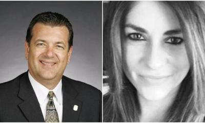 Hollie Ann Bishop and Rep. Dan Kirby