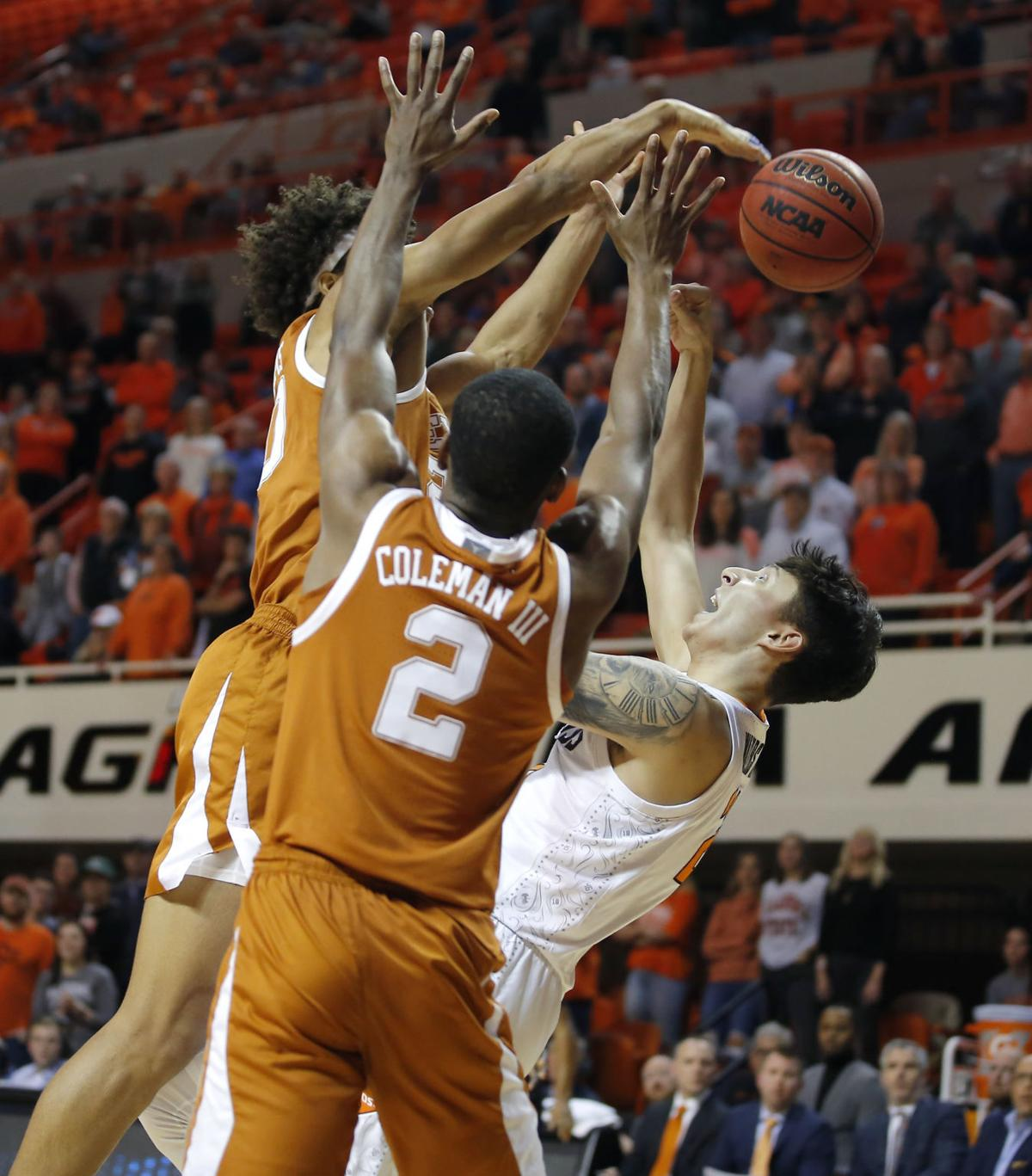 OSU vs TEXAS BASKETBALL