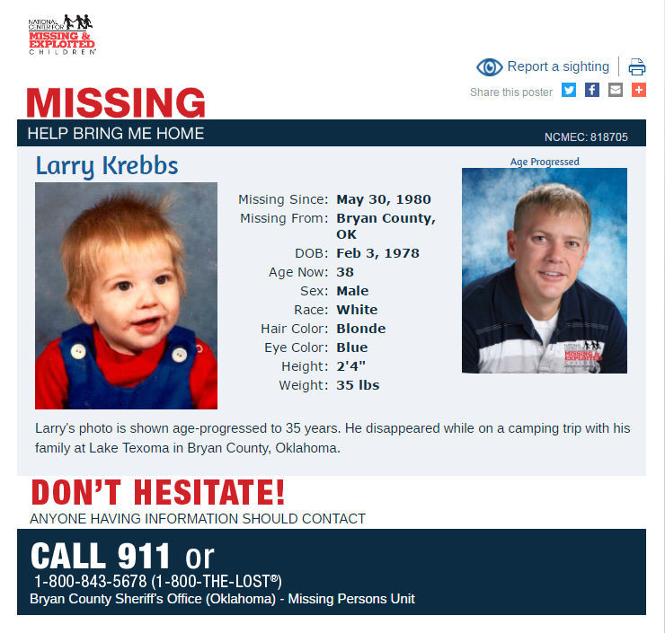 Photo gallery: Have you seen any of these missing Oklahomans
