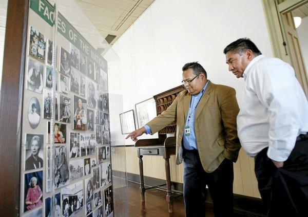 Tribe regains historic Council House