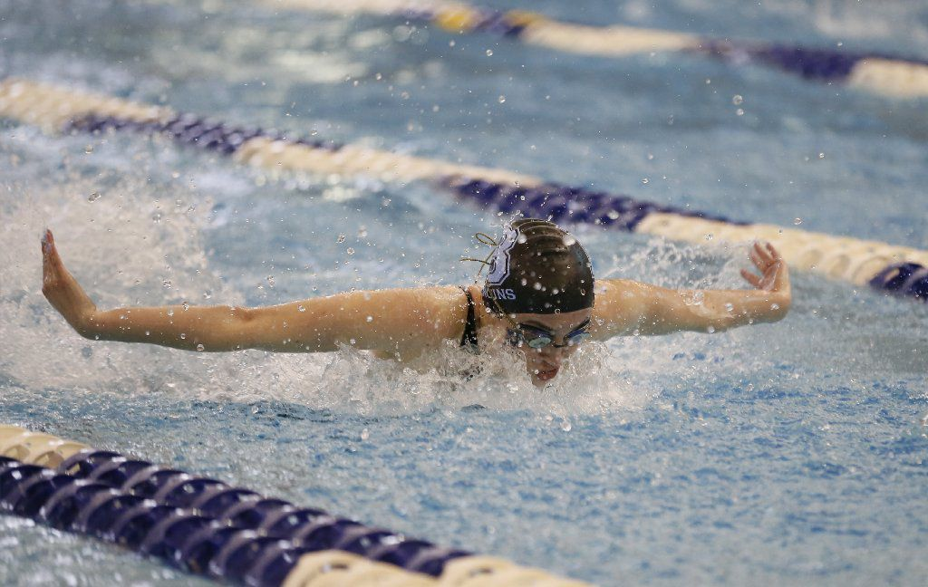 First team: Bartlesville junior Sydney Perry; 100 butterfly (copy)
