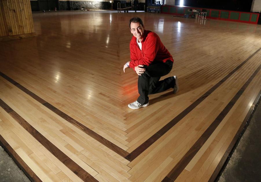 Shine And Bounce Cains Ballrooms New Floor Makes Its Debut