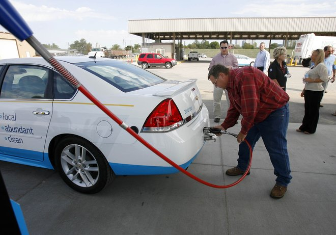 CNG Station Opens To Public In West Tulsa
