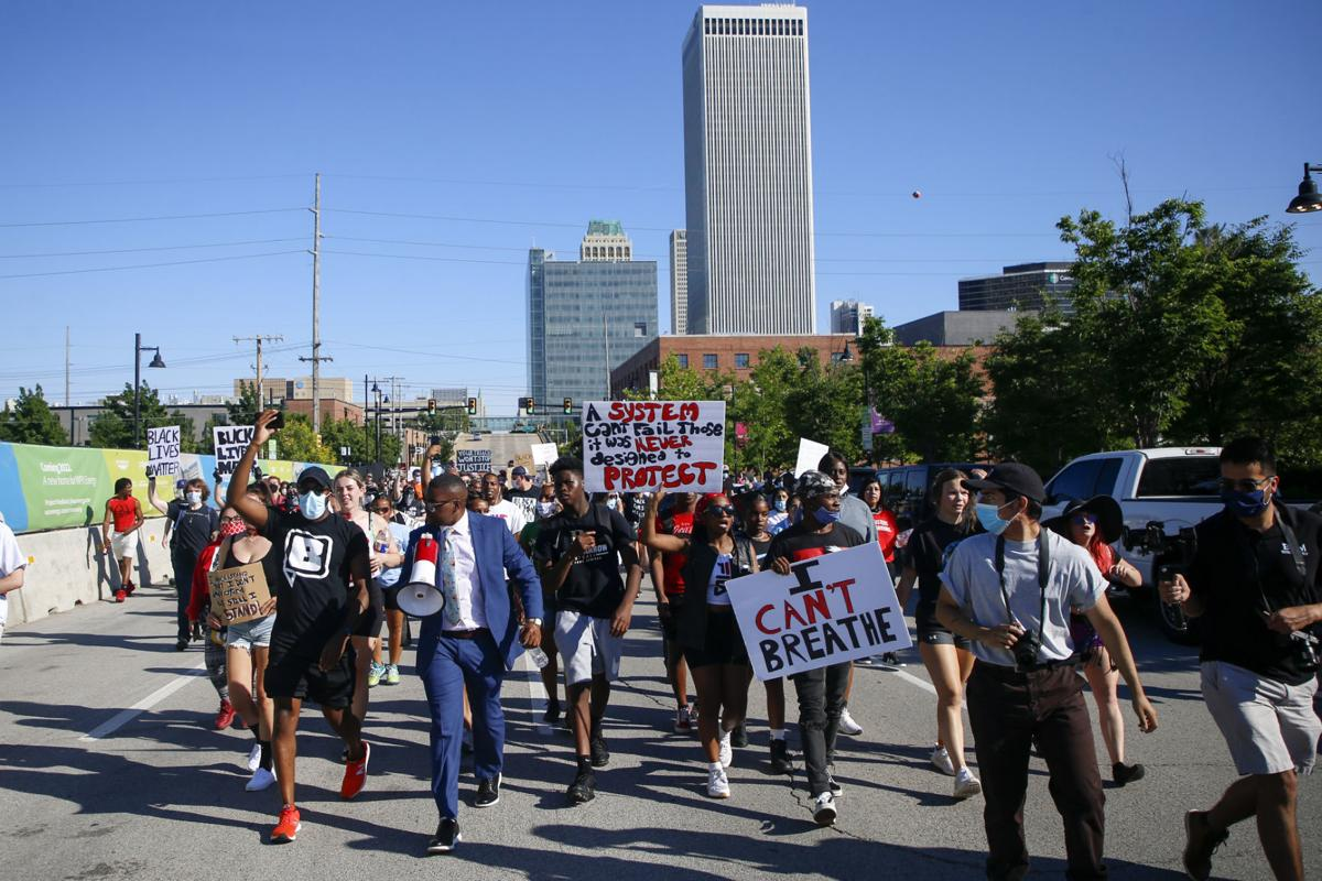 Protest March I-244