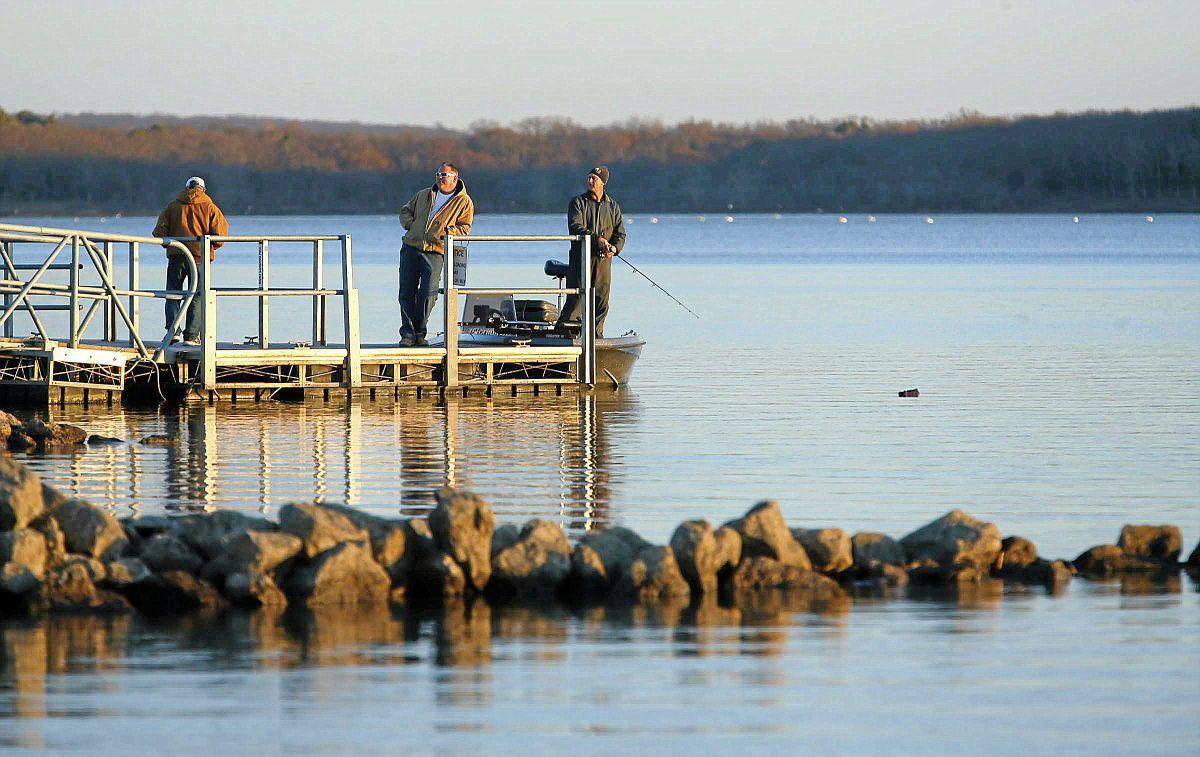 May 24 fishing report water levels above average at most for Fishing forecast oklahoma