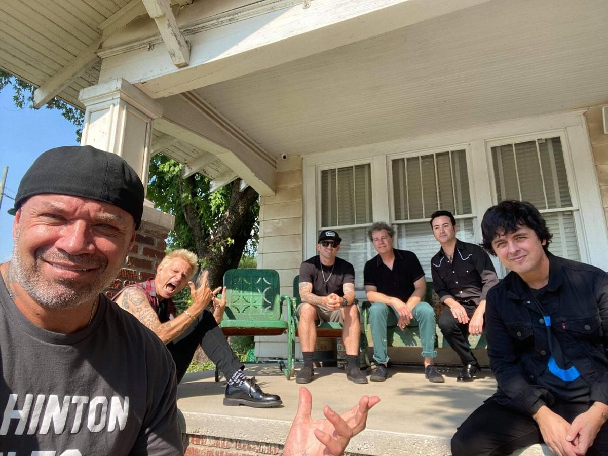 Green Day at Outsiders House (copy)