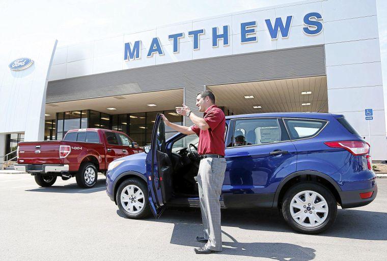 Matthews Ford Shows Off Renovated Dealership In Broken Arrow