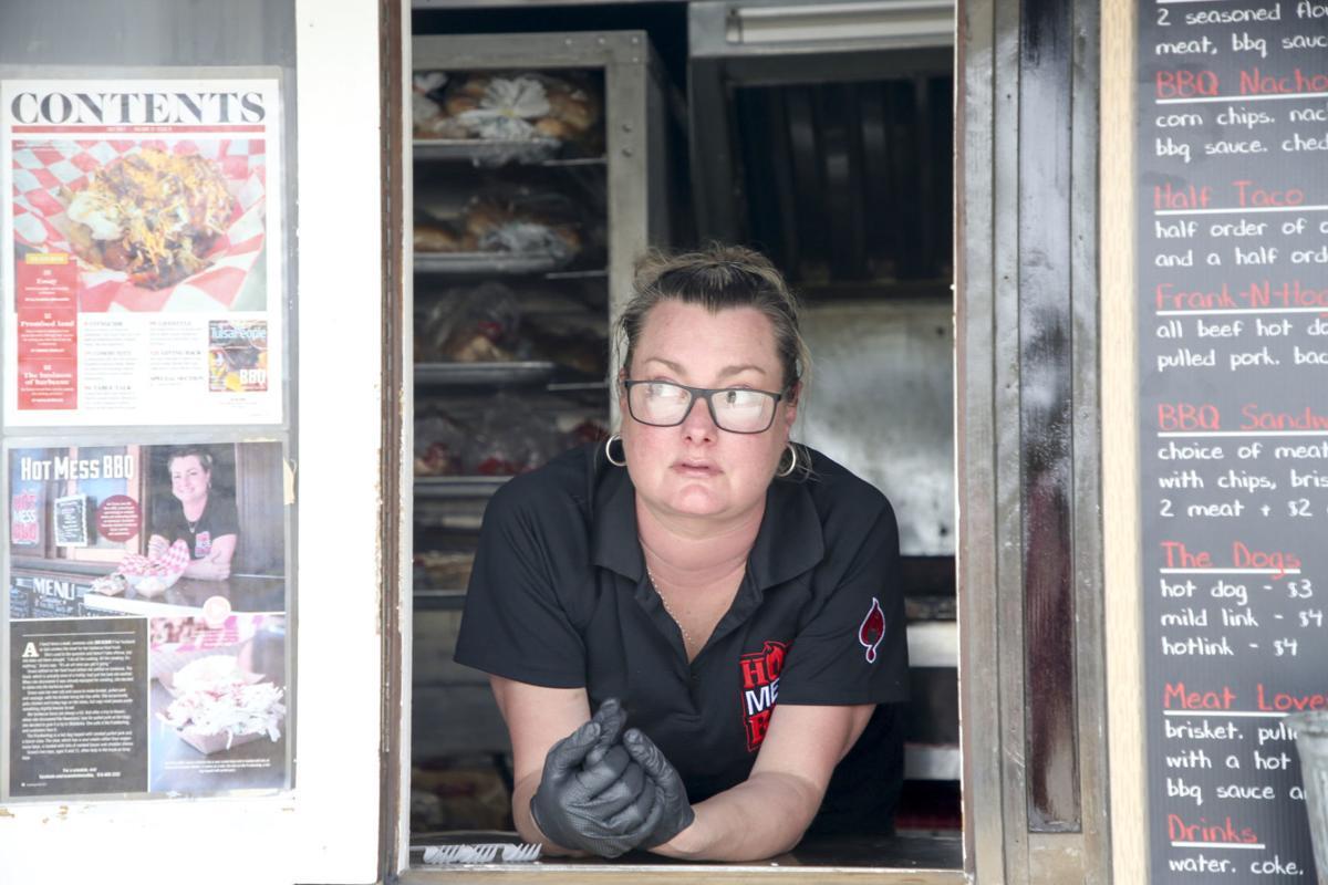 Hot Mess Bbq Dope Soul Food Trucks Work Together To Visit Neighborhoods Dining Tulsaworld Com