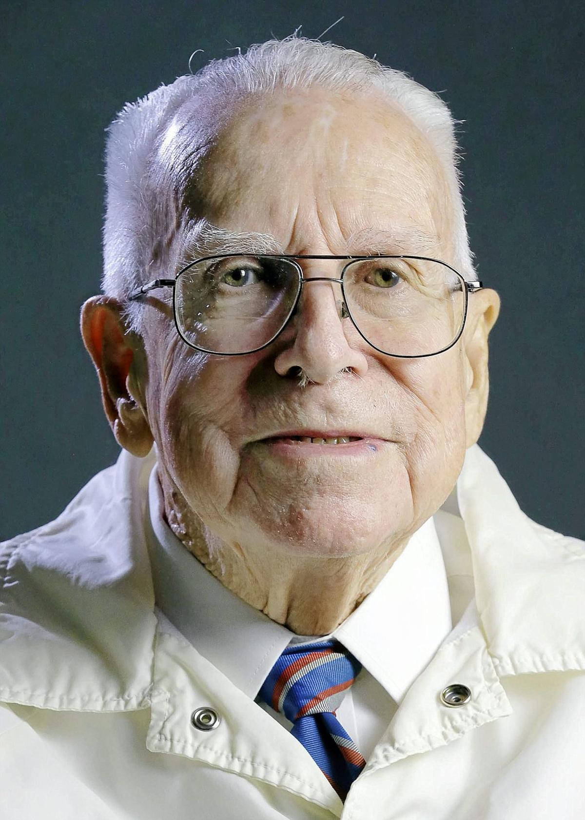 Jim Alspaugh, Tulsa World War II veteran and speaker, Purple
